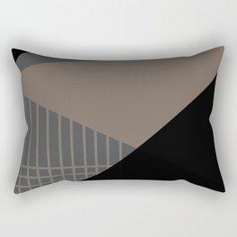 Geometric decor . triangles 2 Rectangular Pillow