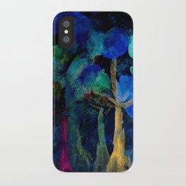 autumn forest iPhone Case
