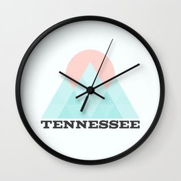 Tennessee Wall Clock