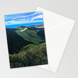 Green Mountains, Blue Skies Stationery Cards