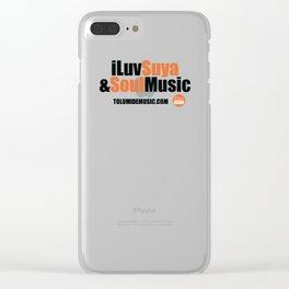 iLuv Suya & Soul Music - TolumiDE Clear iPhone Case