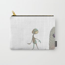 Space Yeti Carry-All Pouch