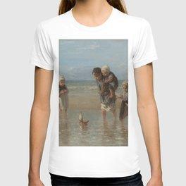 Children of the Sea, Jozef Israëls (1872) T-shirt