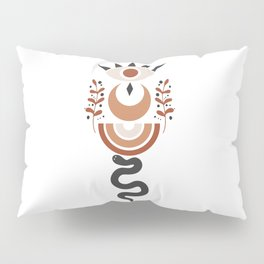 Lunar Desert Totem Pillow Sham