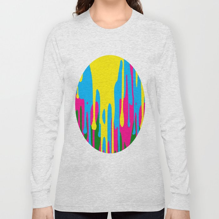 The paint has left the building Long Sleeve T-shirt