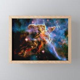 GAlAxY : Mystic Mountain Nebula Framed Mini Art Print