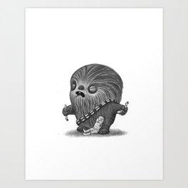 Lil Chewy Art Print