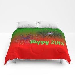 Happy 2015,green Comforters