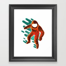 Space Distortion Framed Art Print