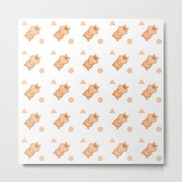 Hamsters Metal Print