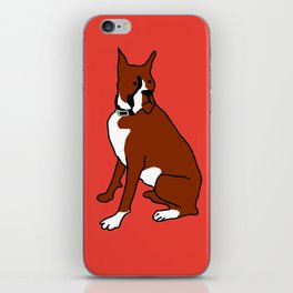 The cool boxer iPhone Skin