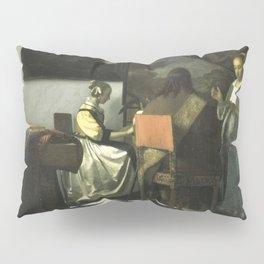 Stolen Art - The Concert by Johannes Vermeer Pillow Sham