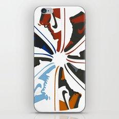 Color Wheel No.001 iPhone & iPod Skin