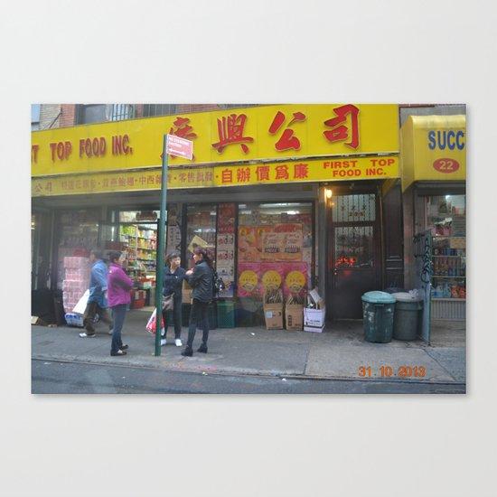 Chinatown Ladies Canvas Print