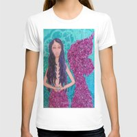 fitzgerald T-shirts featuring Cordelia Fitzgerald the Mermaid by inara77