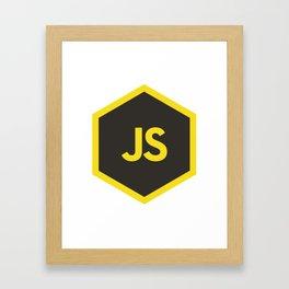 javascript js Framed Art Print
