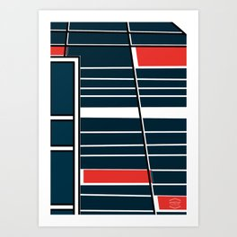 Biblioteca Ingeniería -Detail- Art Print