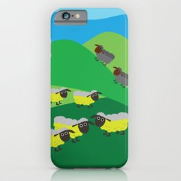 The Sheeps iPhone Case