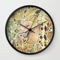 Deer Spirit Wall Clock