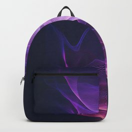 Out of the Blue - Pink, Blue and Ultra Violet Backpack
