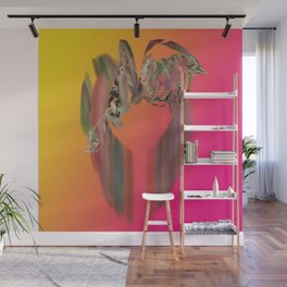 Floral Ring Wall Mural