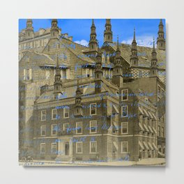 THE OTHER ARCHITECT'S MANSION II Metal Print