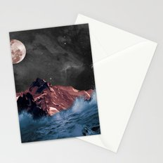 space in sea Stationery Cards