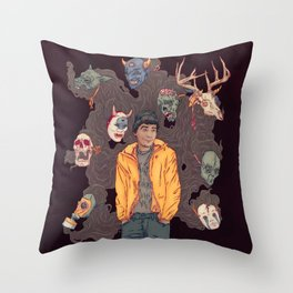Sylartichot Throw Pillow