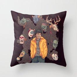 Sylartichot Throw Pillow