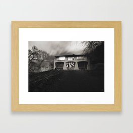The PinesMonster House Framed Art Print