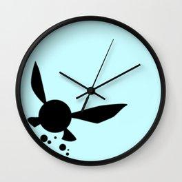 Navi silhouette Wall Clock