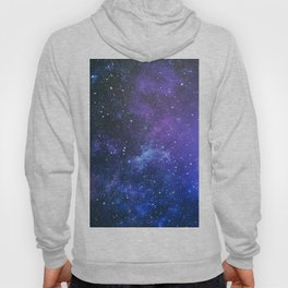 Purple Star Galaxy Hoody