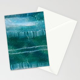Dazzling lights VII Stationery Cards