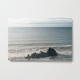 Lonely Rock Metal Print