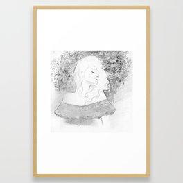 Never Letting Go Framed Art Print