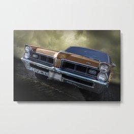 Pontiac Grand Prix 65 Metal Print
