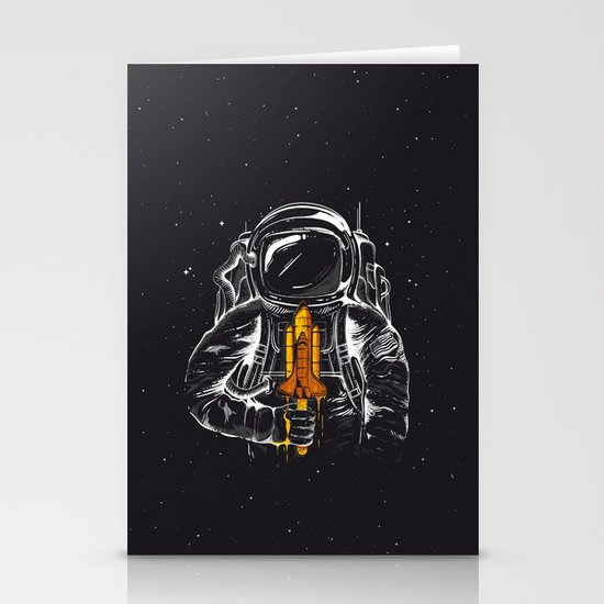 Space Popscicle Stationery Cards