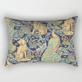 William Morris Forest Pattern Rectangular Pillow