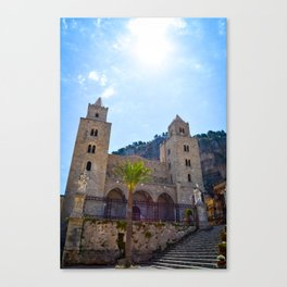 Sicilian Cathedral  Canvas Print