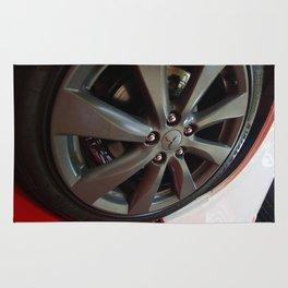 Mitsubishi Lancer Sportback Ralliart Wheel Rug
