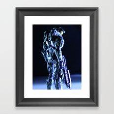 Profilin' Framed Art Print