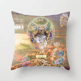 THE HATCHING OF THE EGG (The Sign of Life Collection) Throw Pillow