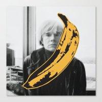 velvet underground Canvas Prints featuring Warhol Underground by NoHo