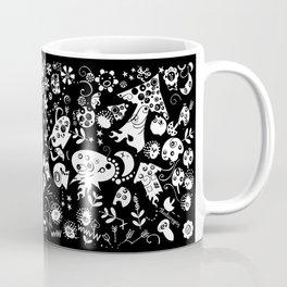 Alien Mushrooms Coffee Mug