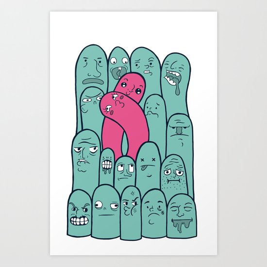 Break the Mold  Art Print