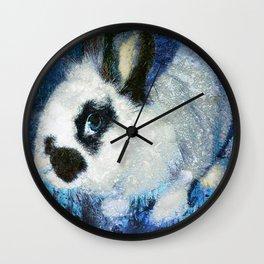 Rabbit art Wall Clock