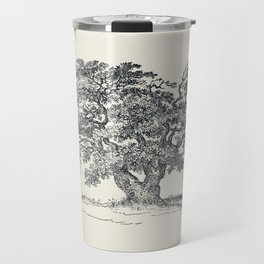 Antique Tree Illustration III Travel Mug