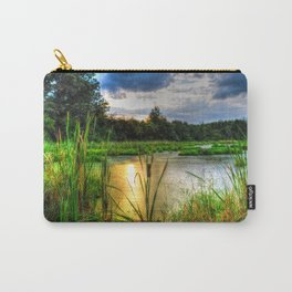 Sunset Over the Marsh Carry-All Pouch
