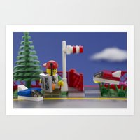 airplanes Art Prints featuring Airplanes by Pedro Nogueira