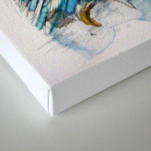 The Sea Glass Owl Canvas Print